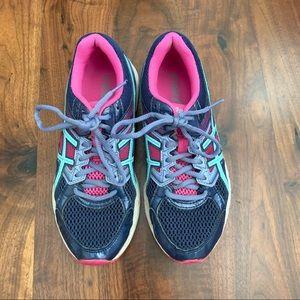 ASICS girl running sneakers